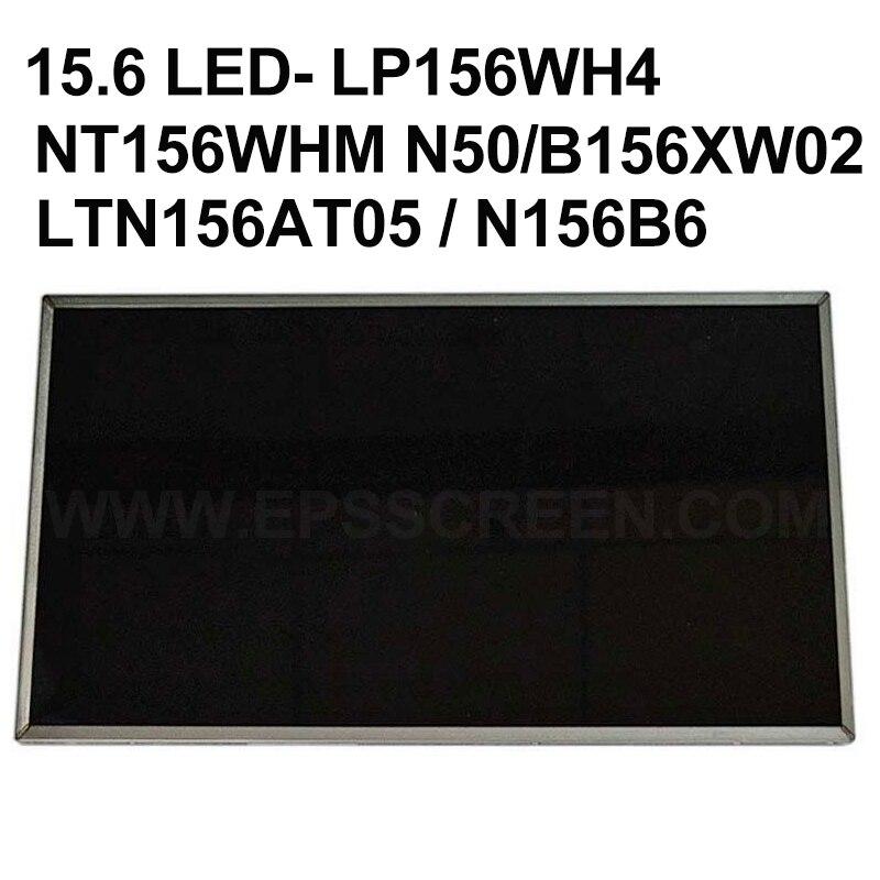 Бесплатная доставка + 15,6 светодиодный B156XW02 LP156WH2 LP156WH4 LTN156AT02 LTN156AT05 LTN156AT24 N156B6-L0A L0B BT156GW01 V.4 40 контакты
