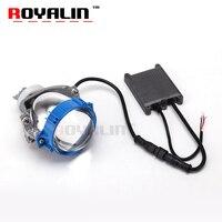 ROYALIN Bi светодиодный проектор Объектив 3,0 ''36 Вт A3 Белый Высокий Низкий Луч для автомобильной освещения фар Универсальный модернизации налобн