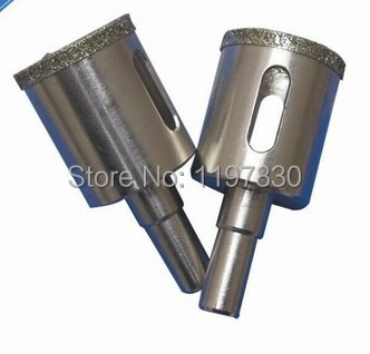 цена на Free shipping of professional quality 2 steps marble hole saw core bit 32*65mm for drilling marble/vetrified tiles /ceramics