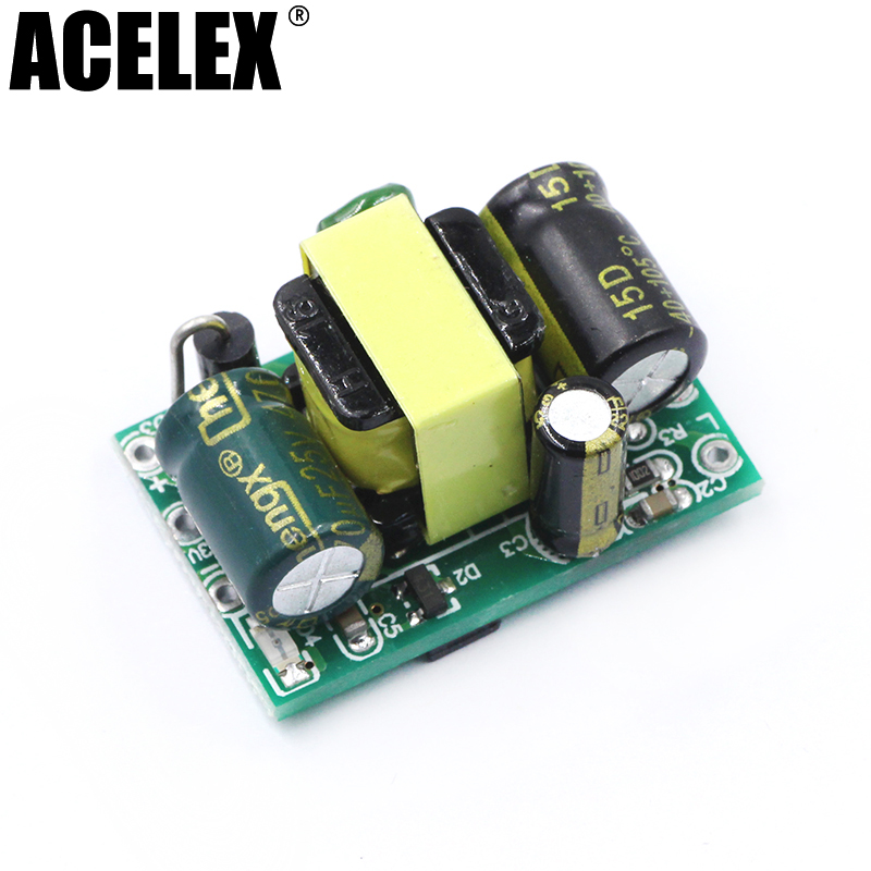 12V400mA (5W) switching power supply module / LED voltage regulator module / AC DC step-down buck module zuczug new precision 700ma 5v 3 5w isolated switching power supply module ac dc buck module 220 to 5v