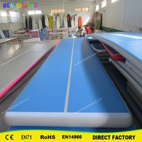 Factory Price High Quality 5x2x0.2m Inflatable Tumble Track Trampoline,Air Tumbling Mat ,Inflatable Air Track For Sale