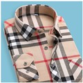 ERRANCE 2017 Высокое качество Плед Рубашка новая мода рубашки мужчин camisa slim fit masculina мужские рубашки