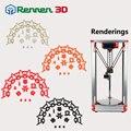 Reprap Коссель Дельта 3d принтер аксессуары целый набор пластмассовых деталей под давлением