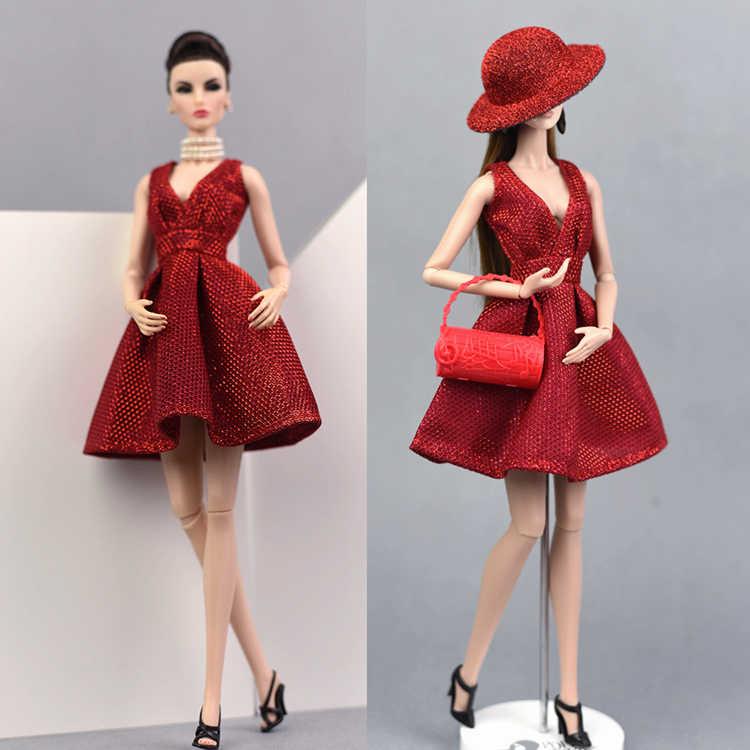 4254bcd7477db2b Платье + сумка + обувь + шляпа/красное блестящее платье вечернее платье  Одежда Аксессуары для