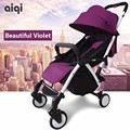 2016 Real Rushed 5.8kg 5 Colors Newborn Sleeping Stroller One Key Fold Open Baby Car Travel Necessary 0~36 Months Use Strollers