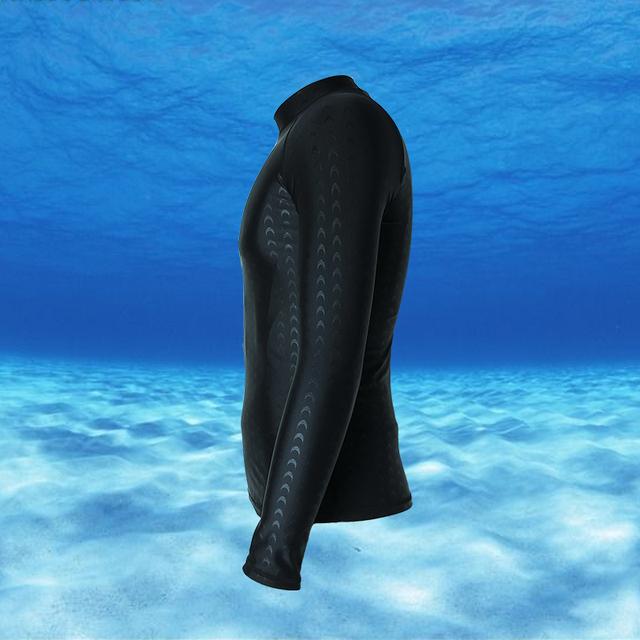 Men & Women Sharkskin Wetsuits Beach Long Sleeve Swim Rashguard 2019 Surfing Sport Swimsuit Top Bathing Suits