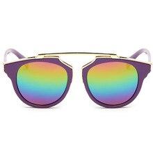 Hot brand new diseño 2017 de la vendimia del verano gafas de sol del cabrito niños steampunk gafas de sol de gran tamaño gafas de sol gafas de sol mujer