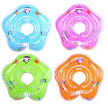 0-3 Years Baby Swimming Ring Neck Tube Ring Safety Infant Neck Float Circle For Baby Swimming Pool Bathing Inflatable 0 3 years baby swimming ring neck tube ring safety infant neck float circle for baby swimming pool bathing inflatable