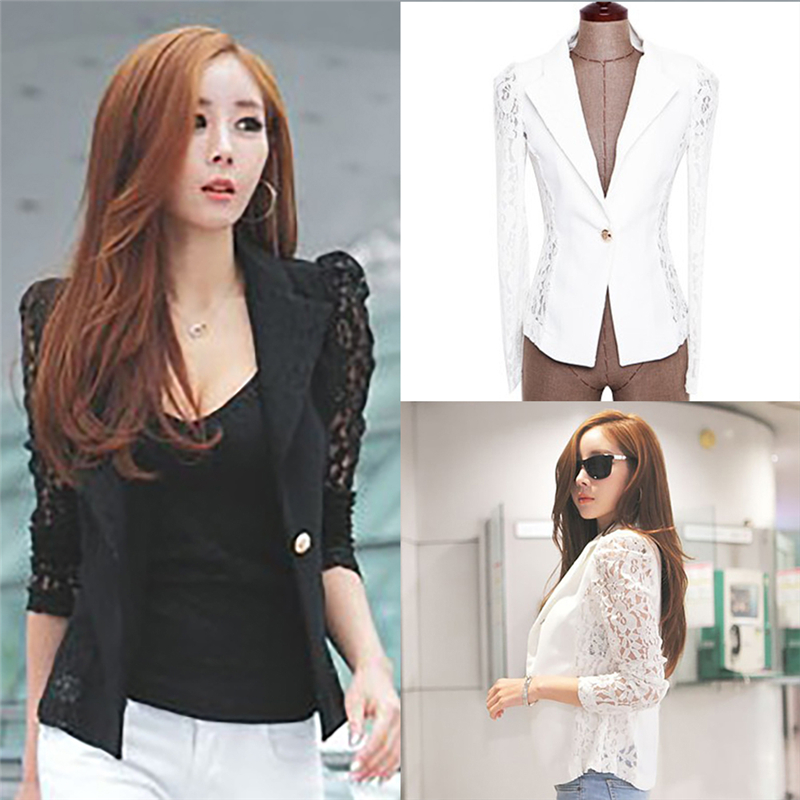 2016 New Hot Sale Women Fashion Korean Sexy Slim Lace -8692