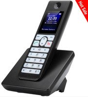 Russian English Spain GSM Cordless Support SIM Card Wireless Phone With SMS Color LCD Screen Fixed