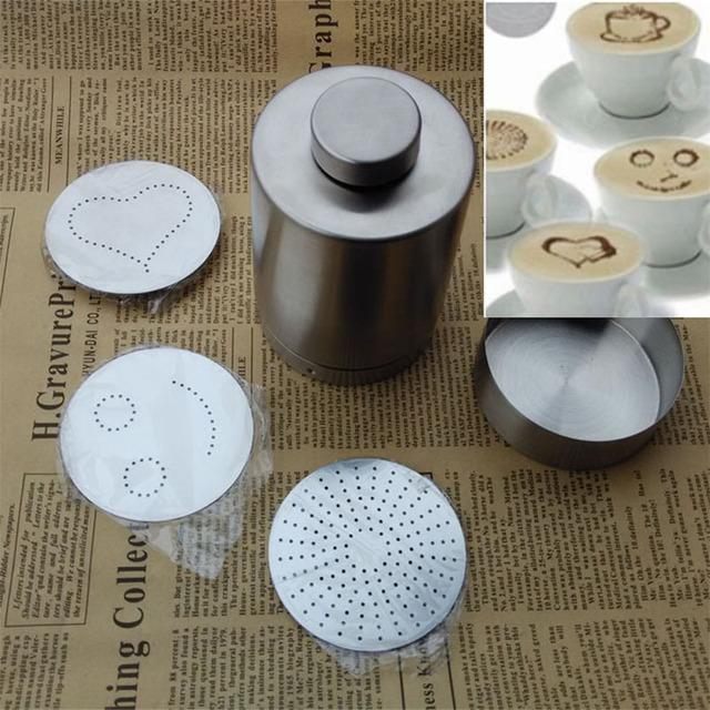 Latte Art Powder Dispenser