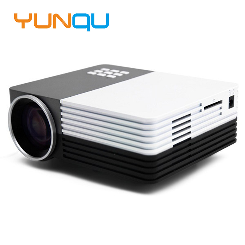 New portable mini led digital projector gm50 800lumens for Mini digital projector