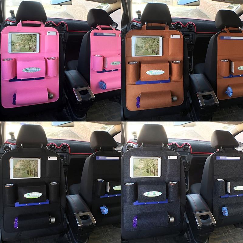 Araba Organizatör Saklama Çantası Geri Koltuk Kutusu Organizatör - Araç Içi Aksesuarları - Fotoğraf 2