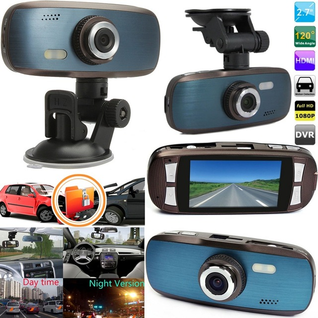 Newest Full HD 1080P G1W 2.7Inch LCD Car DVR Camera Driving Digital Video Recorder G-sensor H.264 Motion Detect Night Vision