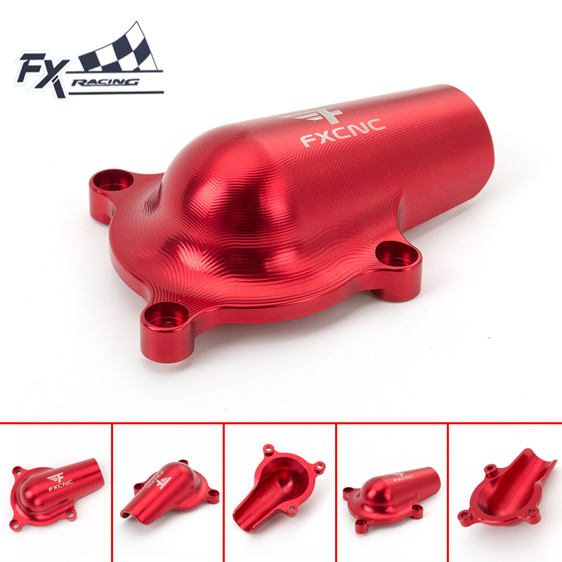 FX Aluminum Motorcycle Water Pump Cover Protector Protection For Yamaha YFM700 YZM 700 Raptor 2008-2016 09 10 11 12 13 14 15