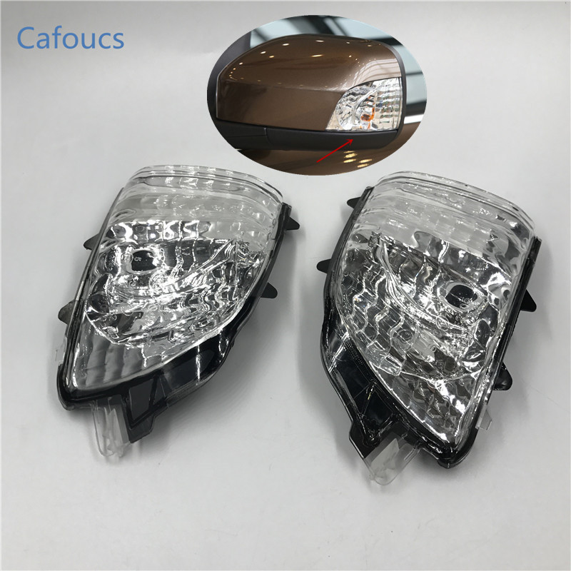 Cafoucs Car Rear View Mirror Indicator lamp side Turn Signal Light For Volvo XC90 2007 2008 2009 2010 2011 2012 2013 2014 2015 car rear trunk security shield shade cargo cover for kia sportag 2007 2008 2009 2010 2011 2012 2013 black beige