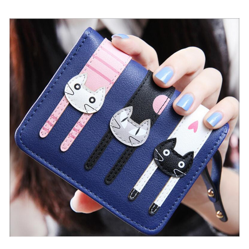 navy blue women wallets pu leather womens wallet little girl purses short small female purse cute money bag birthday gift kids cute girl hasp small wallets women coin purses female coin bag lady cotton cloth pouch kids money mini bag children change purse