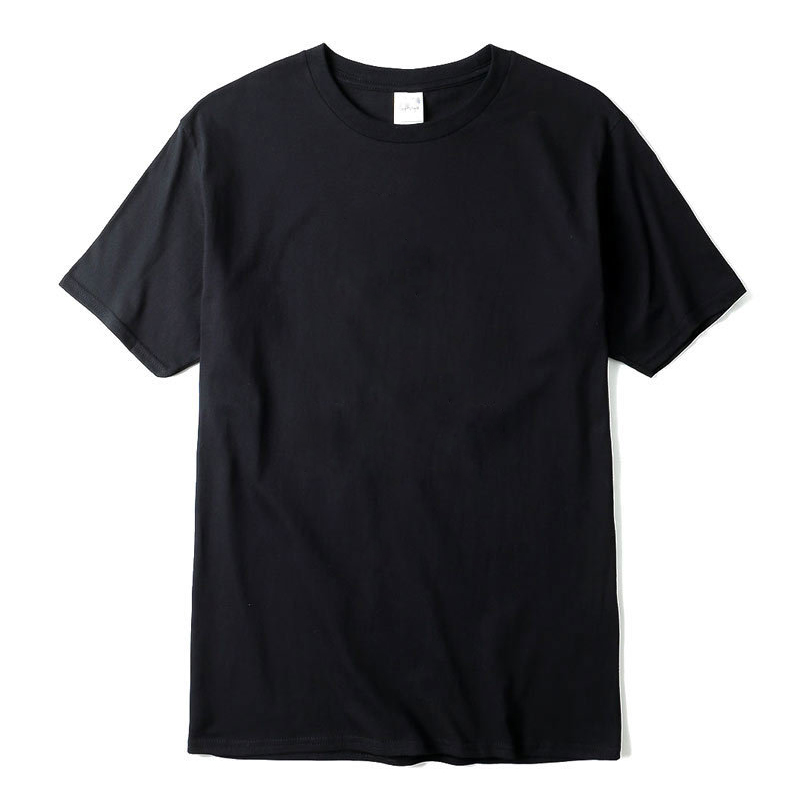 New solid color Short T-shirt Casual Brand men's High quality 100% Cotton O-Neck t-shirt for men T-shirt top harajuku title=