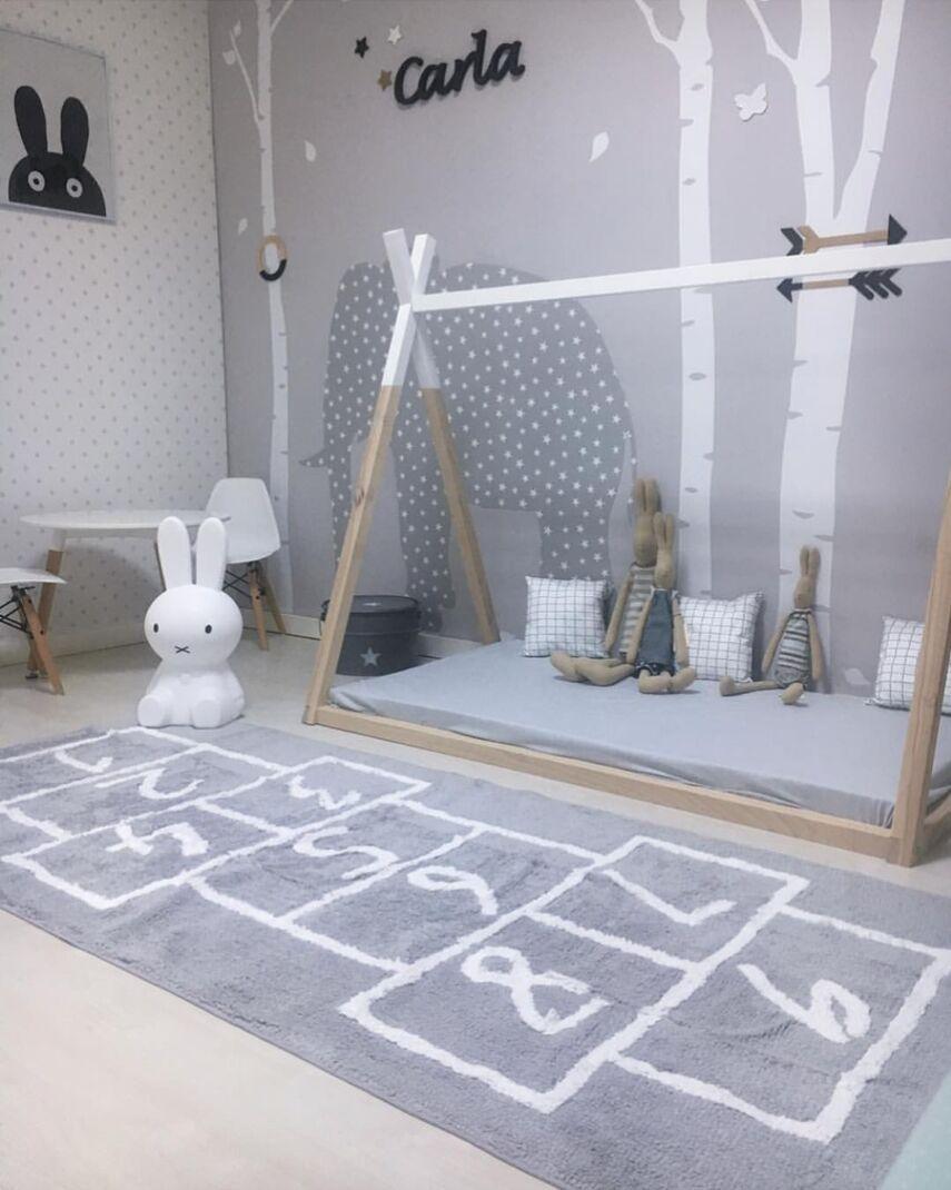 Tapis bébé tapis en coton tapis de jeu pour bébé jeu d'activité tapis de jeu décoration de la maison tapis de chambre pour enfants jouets tapis avec numéros