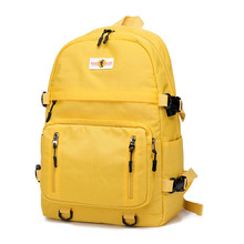 Brand New Fashion Travel Laptop Backpack with USB Charging Port Nylon Girls Double Shoulder Schoolbag Fit for 14 inch Notebook factory direct sales business backpack double shoulder pack usb charging schoolbag laptop package one issue wholesale