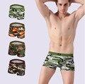 4 Peças de Moda Camo dos homens Underwear Modal Men Boxer Shorts moda Plus Size Boxer Homens Maré Camuflagem Boxers Mens Baratos boxeador