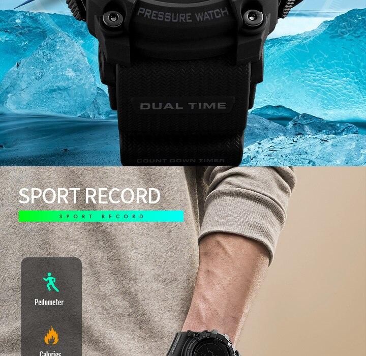 Skmei relógio do esporte masculino moda relógio