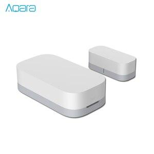 Image 3 - [업데이트 된 Verison ]AQara 스마트 윈도우 도어 센서 ZigBee 무선 연결 다목적 작업 Android IOS APP