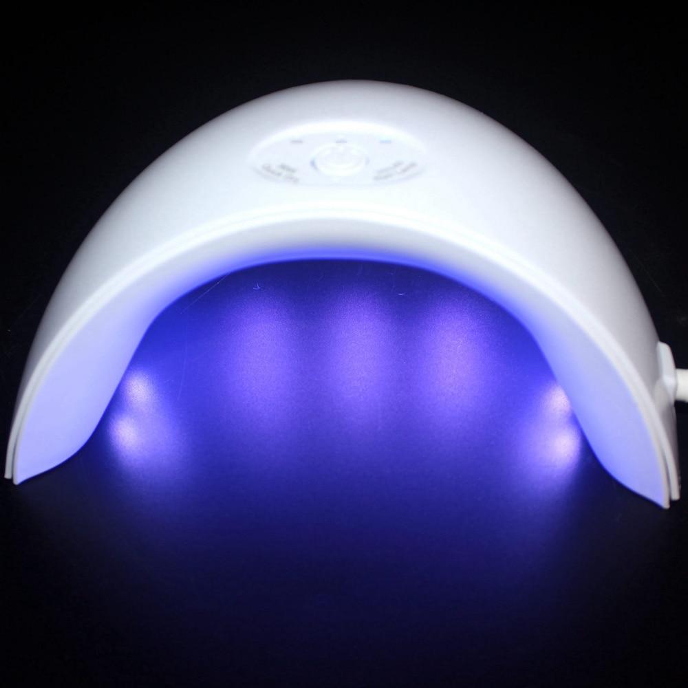 Más nuevo 36 w Led UV lámpara 12 piezas LED secador de uñas para todos Nail Gel polaco manicura con temporizador botón sensor herramientas del arte del clavo
