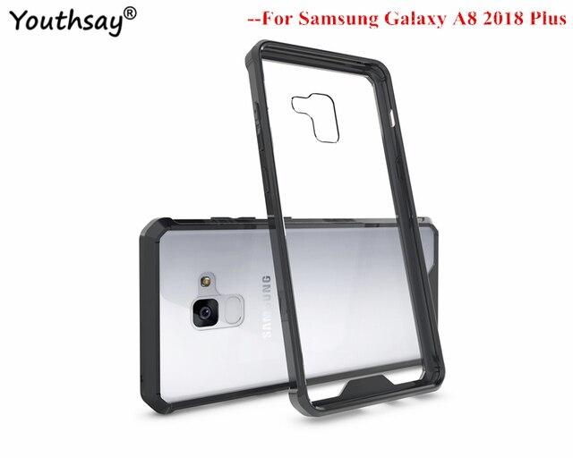 official photos 29e95 cac43 US $2.81 34% OFF sFor Cover Samsung Galaxy A8 Plus 2018 Case Armor TPU Hard  Case For Samsung Galaxy A8 Plus 2018 Shell For Samsung A8 2018 Plus-in ...