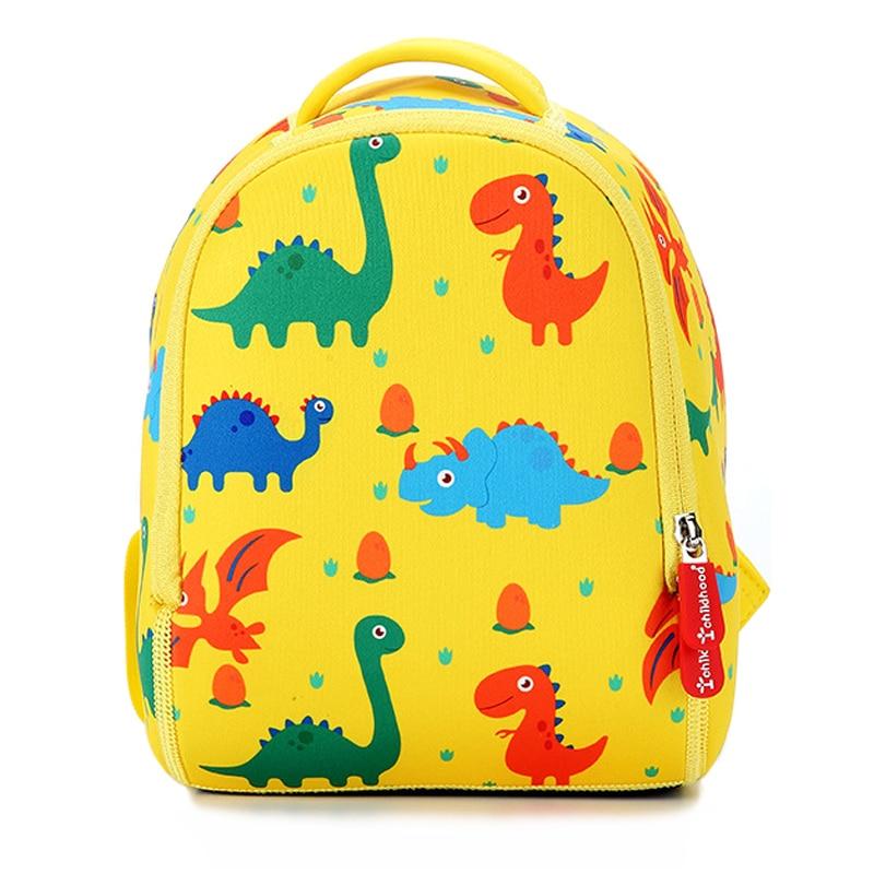 2019 New Dinosaur Kids School Bags For Boys Kindergarten School Backpacks For Girls Creative Animals Kids Bag Mochila Infantil