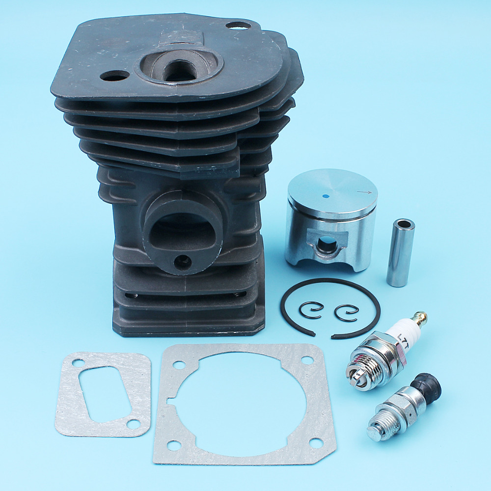 Tools : 42mm Cylinder Piston Gasket Fuel Filter Kit For Jonsered CS 2141 2145 2150 EPA Husqvarna 340 345 Chainsaw 503870274503870276