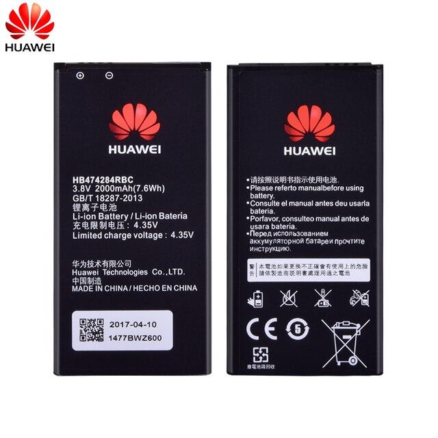d840fcbf7c2 Original HB474284RBC HB5F2H HB4742A0RBC Battery For Huawei Honor 3C Lite  G630 G730 y550 y560 y5 g521 g620 E5330 E5336 Batteria