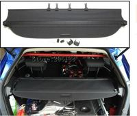 Car Rear Trunk Security Shield Cargo Cover For Honda FIT JAZZ 2014.2015.2016.2017 High Qualit Black Beige Auto Accessories