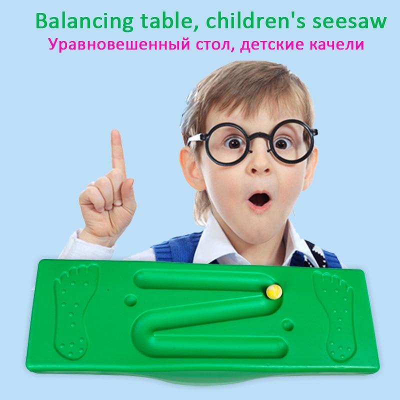 Balance Board intégration sensorielle formation enfants enfance jouets enfant bascule balançoire Balance Board enfant intérieur extérieur activité jeu