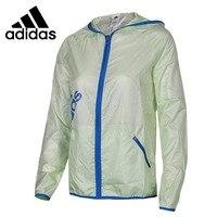 Original New Arrival Adidas Women's jacket Hooded Sportswear