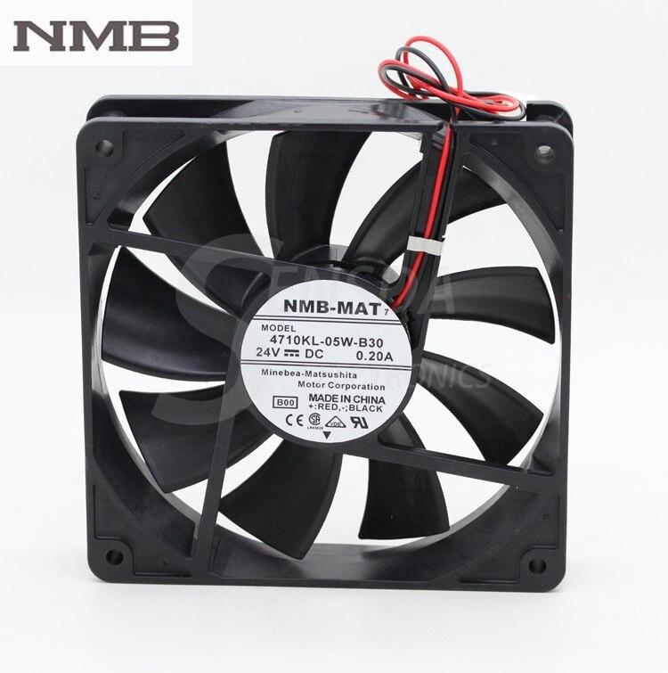 NMB 4710KL-05W-B30 24 V 0.20A 12 Cm 120mm 12 cm 12025 silenzioso silenzioso inverter server Di Raffreddamento fan