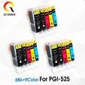 PGI-525 CLI-526 картридж для Canon PGI 525 PGI525 PIXMA IP4850 IP4950 IX6550 MG5150 MG5250 MG6250 MG8250 MX715 MX885 MX895