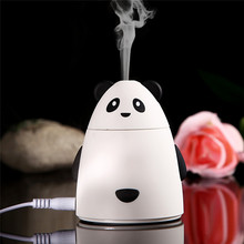 USB Mini Cartoon Bear Air Humidifier DC 5V Diffuser Mist Maker Ultrasonic Humidifiers Office Home