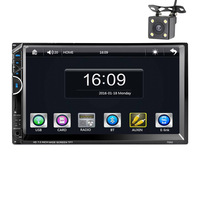 Professional 7 Inch Cars Vehicles Car MP5 Player DVD Video Steering Wheel 2 Din With AM