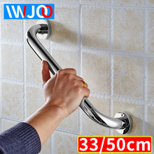 IWJOO Toilet Safety Handrails Elderly Disabled Stainless Steel Bathroom Bathtub Handle Support Grab Bar Wall Mounted Towel Rack safety handrail stainless steel bathroom grab bars for elderly disabled anti slip shower bathtub handle wall mounted towel rack