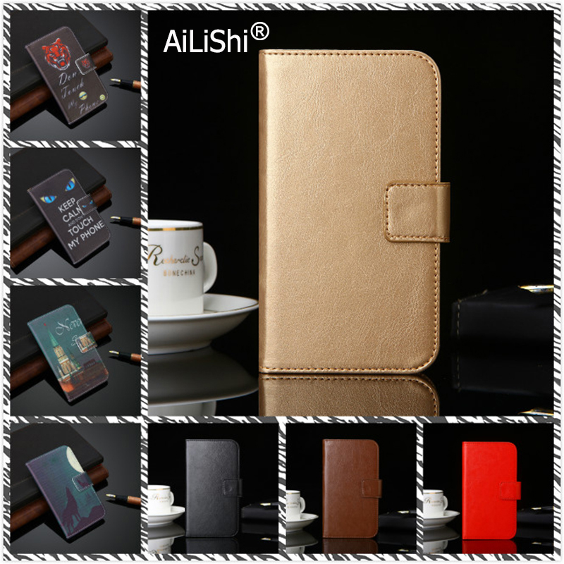 AiLiShi Leather Case For <font><b>Gionee</b></font> S6s M7 Power A1 Plus P7 Max Marathon M5 <font><b>F103</b></font> <font><b>Pro</b></font> PU Flip Cover Skin Wallet With Card Slots Case image