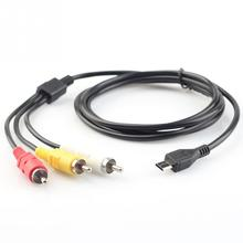 VMC-15MR2 A/V Audio Video Adapter Convert Cable for S ony Handycam Camcorder 5 ft