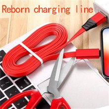 Exclusive new reborn usb data cable For iPhone Apple X XS MAX XR 8 7 6 5 6s plus Cable Fast Charging Cord Mobile Phone