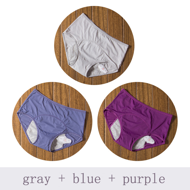 Gray Blue Purple