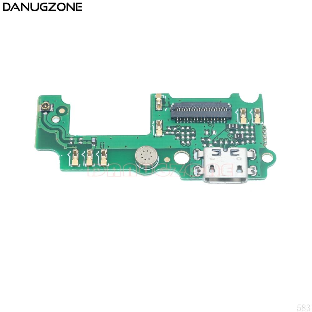 Doca de Carregamento USB Porto Soquete Jack Plug Conector de Carga Board Cabo Flex Para Huawei Y6 Pro/Desfrutar 5 TIT-AL00
