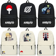 Cartoon Backpacks Teenagers Anime NARUTO Hatake Kakashi Uchiha Sasuke Uzumaki Naruto Shoulders Bag men women backpack 24 style