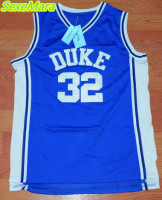 SexeMara Christian Laettner 32 DUKE Basketball Jersey Blue White Cheap Throwback Basketball Stitched Jerseys Free Shipping