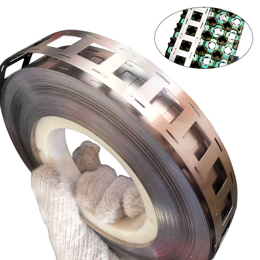 Free Shipping 1M Pure Nickel Strip 2P 0.15*27mm Nickel Strip For 18650 Lithium Battery Welding Tape High Purity Pure Nickel Belt