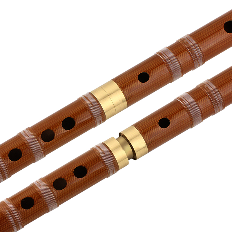 Chinese Musical Instrument Bamboo Flute/dizi In D Pluggable Traditional handmade