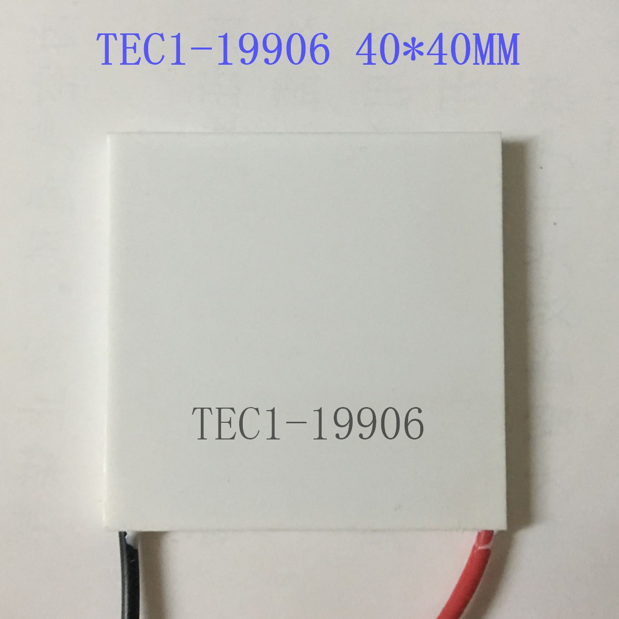 Semiconductor Refrigeration Chip, TEC1-19906, 40*40mm, 24V, 6A, High Power Refrigeration Device, Medical Refrigeration exclusive high power semiconductor refrigeration piece electronic refrigeration chip tec1 12730 360w